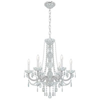 Schonbek 1303-40H Arlington 6 Light 24 inch Silver Chandelier Ceiling Light in Polished Silver, Clear Heritage  alternative photo thumbnail