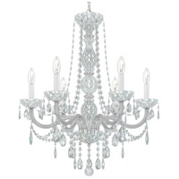 Schonbek 1303-40H Arlington 6 Light 24 inch Silver Chandelier Ceiling Light in Polished Silver, Clear Heritage