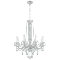 Schonbek 1305-40H Arlington 8 Light 28 inch Silver Chandelier Ceiling Light in Polished Silver, Clear Heritage  alternative photo thumbnail
