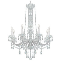 Schonbek 1305-40H Arlington 8 Light 28 inch Silver Chandelier Ceiling Light in Polished Silver, Clear Heritage