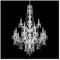 Arlington 15 Light 32 inch Silver Chandelier Ceiling Light