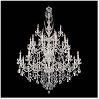 Arlington 25 Light 45 inch Silver Chandelier Ceiling Light