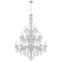 Schonbek 1310-40H Arlington 25 Light 45 inch Silver Chandelier Ceiling Light in Polished Silver, Clear Heritage  alternative photo thumbnail