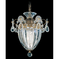 Bagatelle 1 Light 8 inch Etruscan Gold Pendant Ceiling Light in Clear Heritage