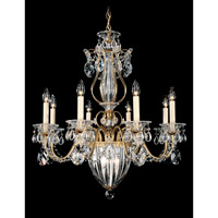 Schonbek Bagatelle 11 Light Chandelier in Heirloom Gold and Clear Heritage Handcut Trim 1248-22 photo thumbnail