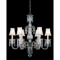 Schonbek Birmingham Chandelier in Royal Pewter and Clear Heritage Handcut Trim 3676-84 photo thumbnail
