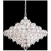 Schonbek BN1024N-401A Baronet 12 Light Polished Stainless Steel Pendant Ceiling Light in Clear Spectra