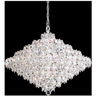 Schonbek BN1033N-401A Baronet 28 Light Polished Stainless Steel Pendant Ceiling Light in Spectra