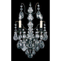Schonbek Bordeaux 2 Light Wall Sconce in Heirloom Bronze and Clear Legacy Collection Trim 5766-76L