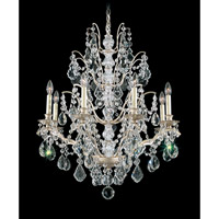Schonbek Bordeaux 8 Light Chandelier in Silvergild and Clear Legacy Collection Trim 5771-91L photo thumbnail