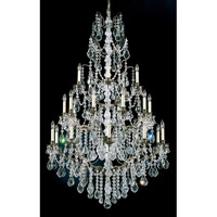 Schonbek Bordeaux 25 Light Pendant in Bronze Umber and Legacy Crystal 5782-75L