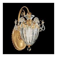 Bagatelle 1 Light 11 inch Heirloom Gold Lantern Wall Sconce Wall Light in Clear Spectra