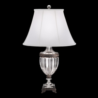 Bagatelle Lamp 34 inch 100 watt Polished Silver Table Lamp Portable Light
