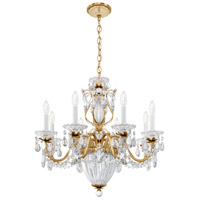 Schonbek 1238N-22H Bagatelle 11 Light 27 inch Heirloom Gold Pendant Ceiling Light in Clear Heritage alternative photo thumbnail