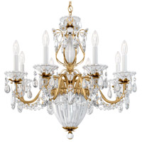 Bagatelle 11 Light 27 inch Etruscan Gold Pendant Ceiling Light in Clear Spectra