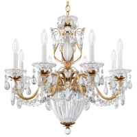 Schonbek 1238N-26A Bagatelle 11 Light 27 inch French Gold Pendant Ceiling Light in Clear Spectra
