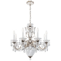 Schonbek 1238N-48A Bagatelle 11 Light 27 inch Antique Silver Pendant Ceiling Light in Clear Spectra alternative photo thumbnail