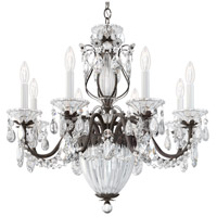 Schonbek 1238N-76A Bagatelle 11 Light 27 inch Heirloom Bronze Pendant Ceiling Light in Clear Spectra