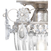 Schonbek 1239-48S Bagatelle 1 Light 8 inch Antique Silver Semi Flush Mount Ceiling Light in Clear Swarovski alternative photo thumbnail