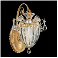 Bagatelle 1 Light 11 inch Heirloom Gold Lantern Wall Sconce Wall Light in Clear Heritage