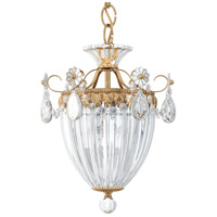 Schonbek 1243-23 Bagatelle 3 Light 11 inch Etruscan Gold Pendant Ceiling Light in Clear Heritage