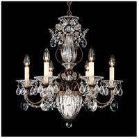 Schonbek 1246-23 Bagatelle 7 Light 21 inch Etruscan Gold Chandelier Ceiling Light in Clear Heritage
