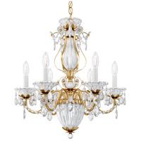 Schonbek 1246-22 Bagatelle 7 Light 21 inch Heirloom Gold Chandelier Ceiling Light in Bagatelle Heritage