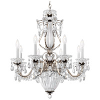 Schonbek 1248-48 Bagatelle 11 Light 27 inch Antique Silver Chandelier Ceiling Light in Bagatelle Heritage