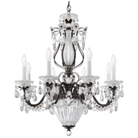 Schonbek 1248-76 Bagatelle 11 Light 27 inch Heirloom Bronze Chandelier Ceiling Light in Bagatelle Heritage