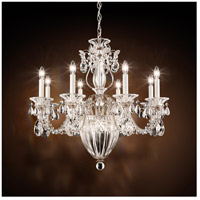 Schonbek Bagatelle 11 Light Chandelier in Antique Silver and Swarovski Crystal 1238N-48S