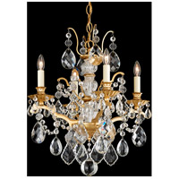 Bordeaux 4 Light 18 inch French Gold Chandelier Ceiling Light
