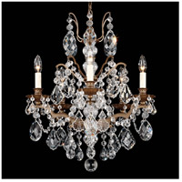 Bordeaux 5 Light 20 inch Textured Bronze Chandelier Ceiling Light