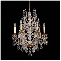 Bordeaux 6 Light 22 inch Etruscan Gold Chandelier Ceiling Light