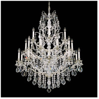 Bordeaux 25 Light 40 inch Antique Silver Chandelier Ceiling Light