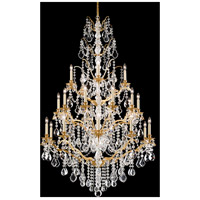Schonbek 5782-22L Bordeaux 25 Light 40 inch Heirloom Gold Chandelier Ceiling Light in Clear Legacy