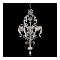 Schonbek Brocade 8 Light Chandelier in Stainless Steel and Crystal Swarovski Elements Trim BR3856N-401S