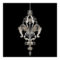 Schonbek Brocade 8 Light Chandelier in Antique Silver and Crystal Swarovski Elements Trim BR3856N-48S
