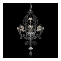 Schonbek Brocade 10 Light Chandelier in Antique Pewter and Crystal Swarovski Elements Trim BR3858N-47S