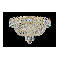 Camelot 3 Light 11 inch Special Gold Flush Mount Ceiling Light in Polished Gold