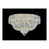 Camelot 4 Light 16 inch Special Gold Flush Mount Ceiling Light in Polished Gold