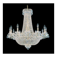 Schonbek Camelot 24 Light Chandelier in Special Gold and Clear Gemcut Trim 2623-20
