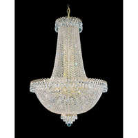 Schonbek Camelot 31 Light Chandelier in Special Gold and Clear Gemcut Trim 2628-20