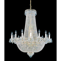 Schonbek Camelot 47 Light Chandelier in Special Gold and Clear Gemcut Trim 2629-20