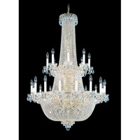Schonbek Camelot 64 Light Chandelier in Special Gold and Clear Gemcut Trim 2639-20 photo thumbnail