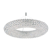 Cassini 15 Light 25 inch Stainless Steel Pendant Ceiling Light in Clear Spectra, Geometrix,Canopy Sold Separately