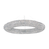 Schonbek CA3939A Cassini 28 Light 39 inch Stainless Steel Pendant Ceiling Light in Clear Spectra GeometrixCanopy Sold Separately