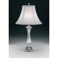 Schonbek Cellini 1 Light Table Lamp in Antique Silver 20150N-48