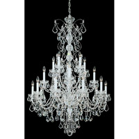Century 20 Light 37 inch Silver Chandelier Ceiling Light