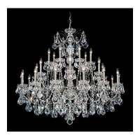 Century 28 Light 43 inch Black Pearl Chandelier Ceiling Light