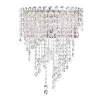 Schonbek Chantant Wall Sconce in Stainless Steel and Spectra Crystal CH1232N-401A